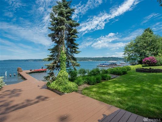 Bellevue legacy property on Lake Sammamish luxury real estate