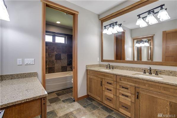 SPRAWLING NORTHWEST CLIC CONTEMPORARY RAMBLER ... on log home bathroom designs, french country bathroom designs, split level bathroom designs, farm house bathroom designs, transitional bathroom designs,