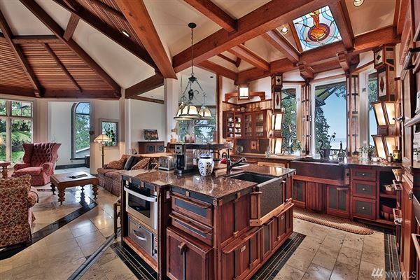 Luxury real estate Stunningly Unique and Luxurious Langley Home