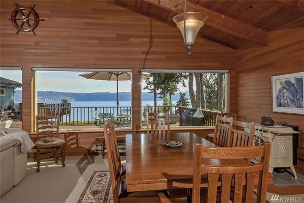 Luxury properties Lovely waterfront Northwest contemporary