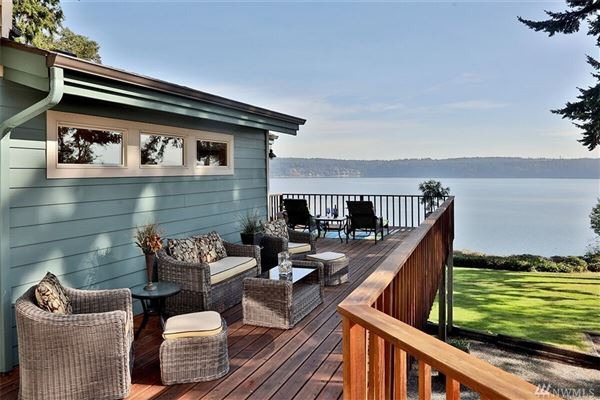 Luxury real estate Lovely waterfront Northwest contemporary