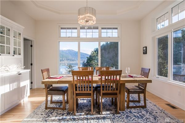 Luxury real estate fully renovated custom home with breathtaking bay views
