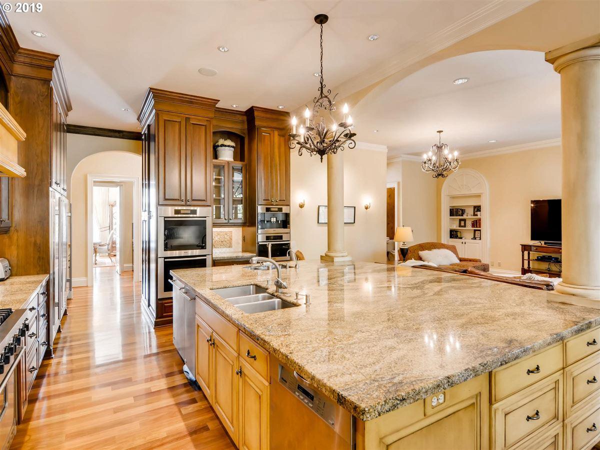 custom european-style home luxury homes