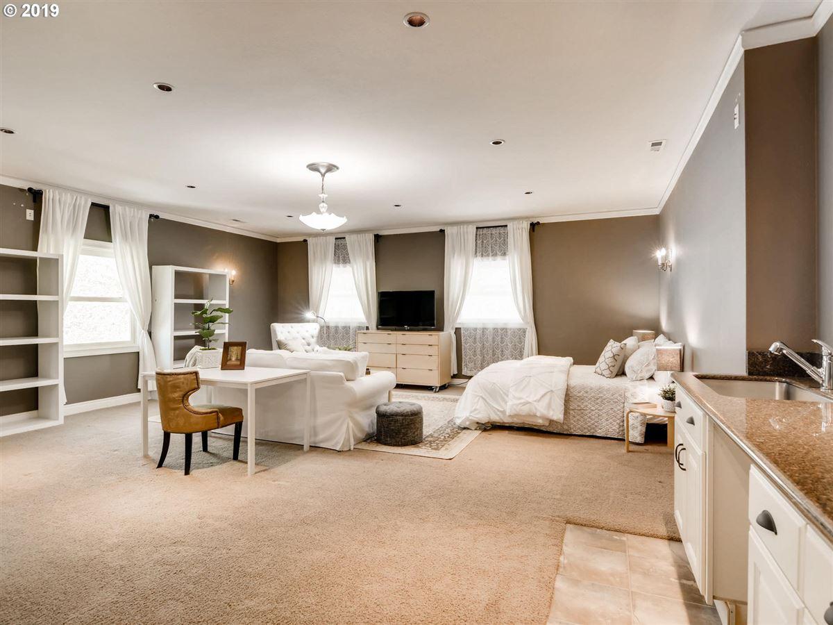 Luxury real estate custom european-style home