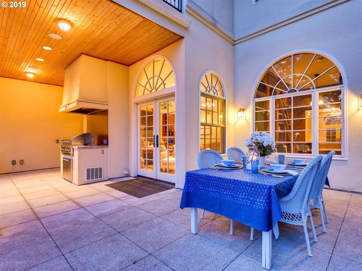 Mansions custom european-style home