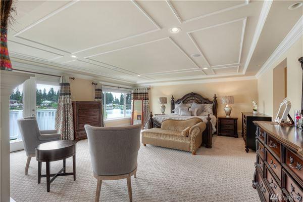 gorgeous lake serene waterfront estate luxury real estate