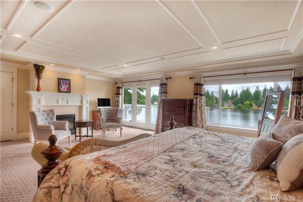 Luxury properties gorgeous lake serene waterfront estate