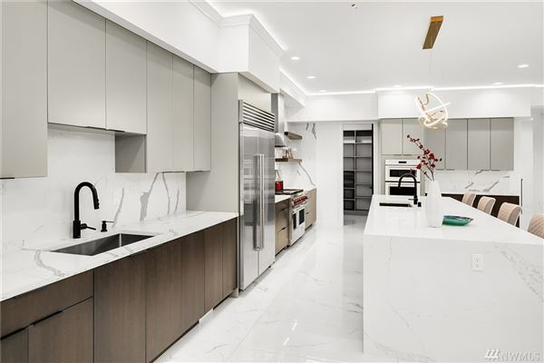 Luxury real estate custom modern design with unparalleled construction quality