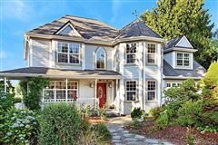 Luxury real estate charming home on desirable Lake Tapps