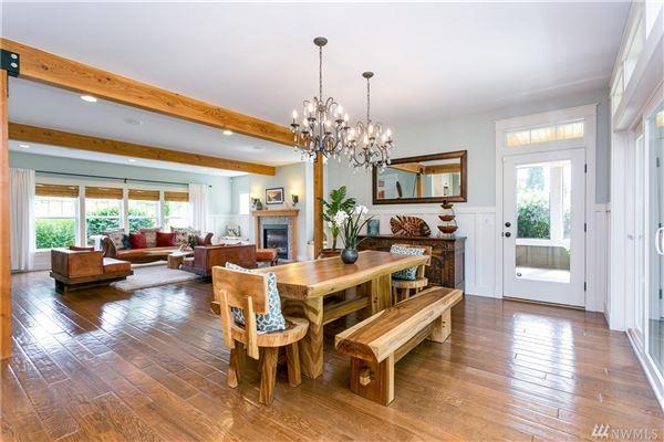Exceptional Northwest Craftsman home luxury homes