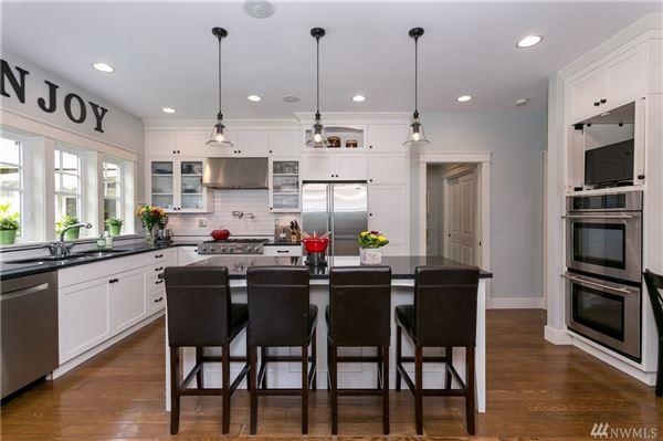 Exceptional Northwest Craftsman home luxury real estate