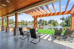 Mansions in Breathtaking Lake Tapps Waterfront Home