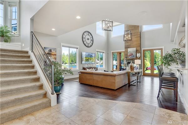 Breathtaking Lake Tapps Waterfront Home luxury homes