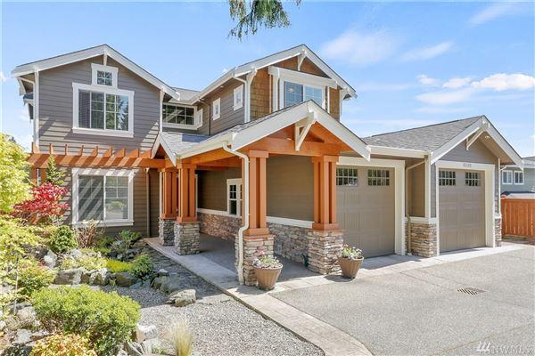 Luxury properties Breathtaking Lake Tapps Waterfront Home