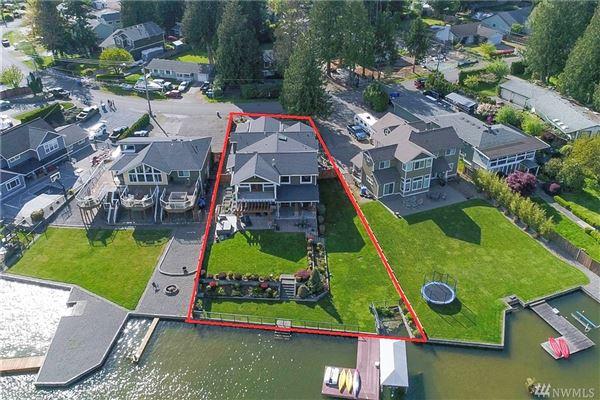 Breathtaking Lake Tapps Waterfront Home luxury properties