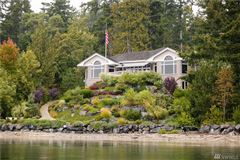 Luxury real estate Spectacular Custom Waterfront Home