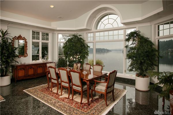 Luxury homes Spectacular Custom Waterfront Home
