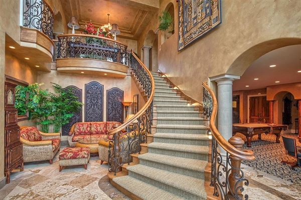 Luxury real estate masterpiece inside and out