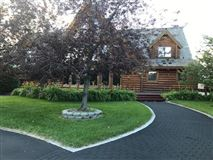 Luxury real estate beautifully crafted exceptional log home