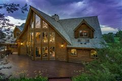 Mansions beautifully crafted exceptional log home