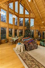 Mansions in beautifully crafted exceptional log home