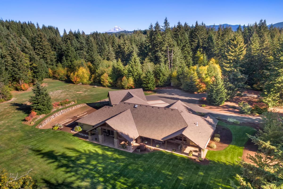Custom Craftsman on 34 private acres luxury real estate
