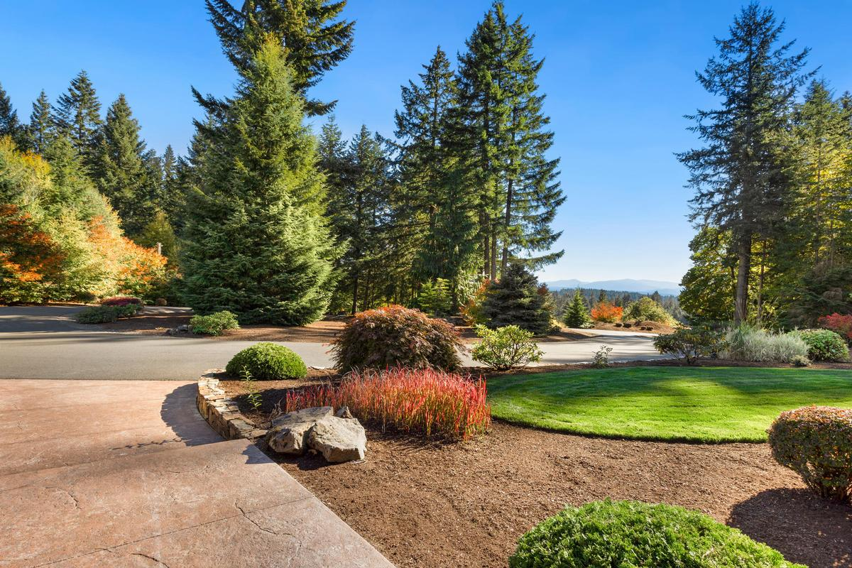 Luxury real estate Custom Craftsman on 34 private acres