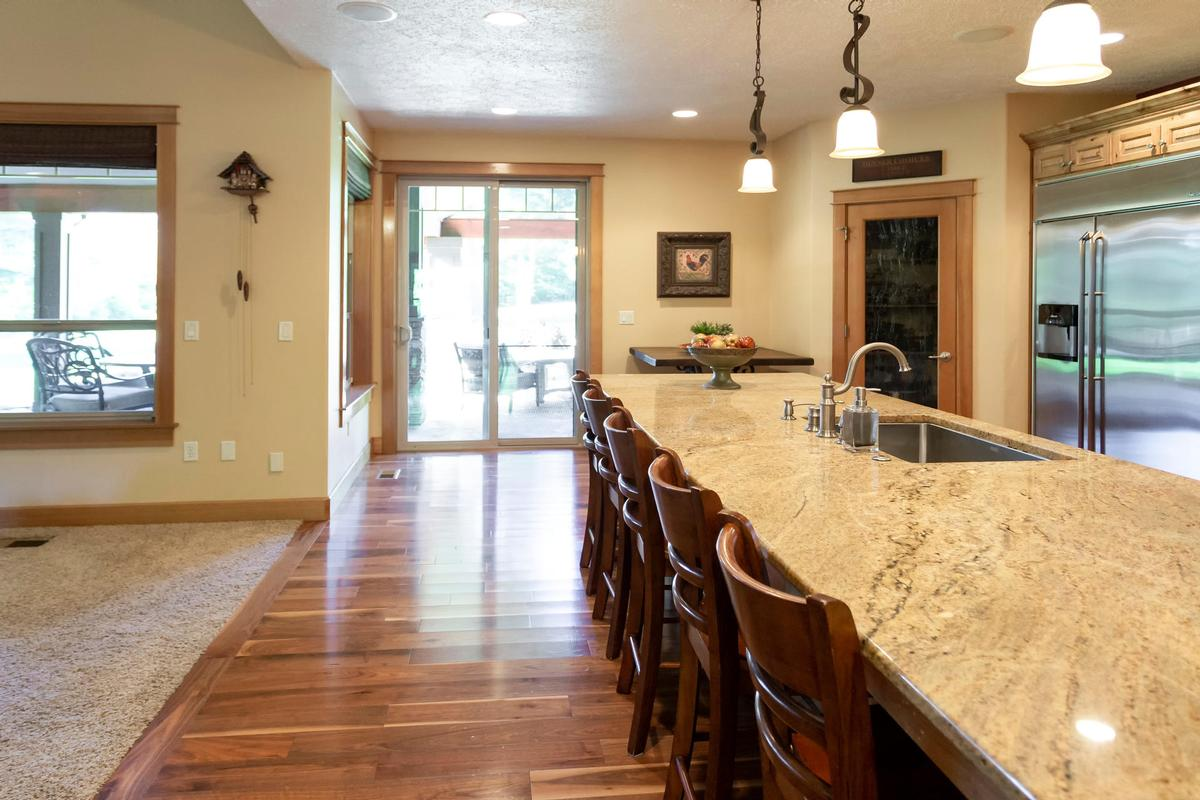 Custom Craftsman on 34 private acres luxury homes