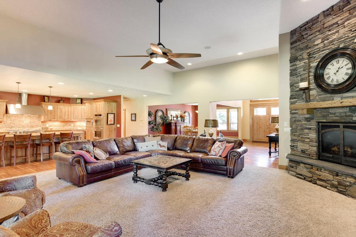 Custom Craftsman on 34 private acres luxury properties