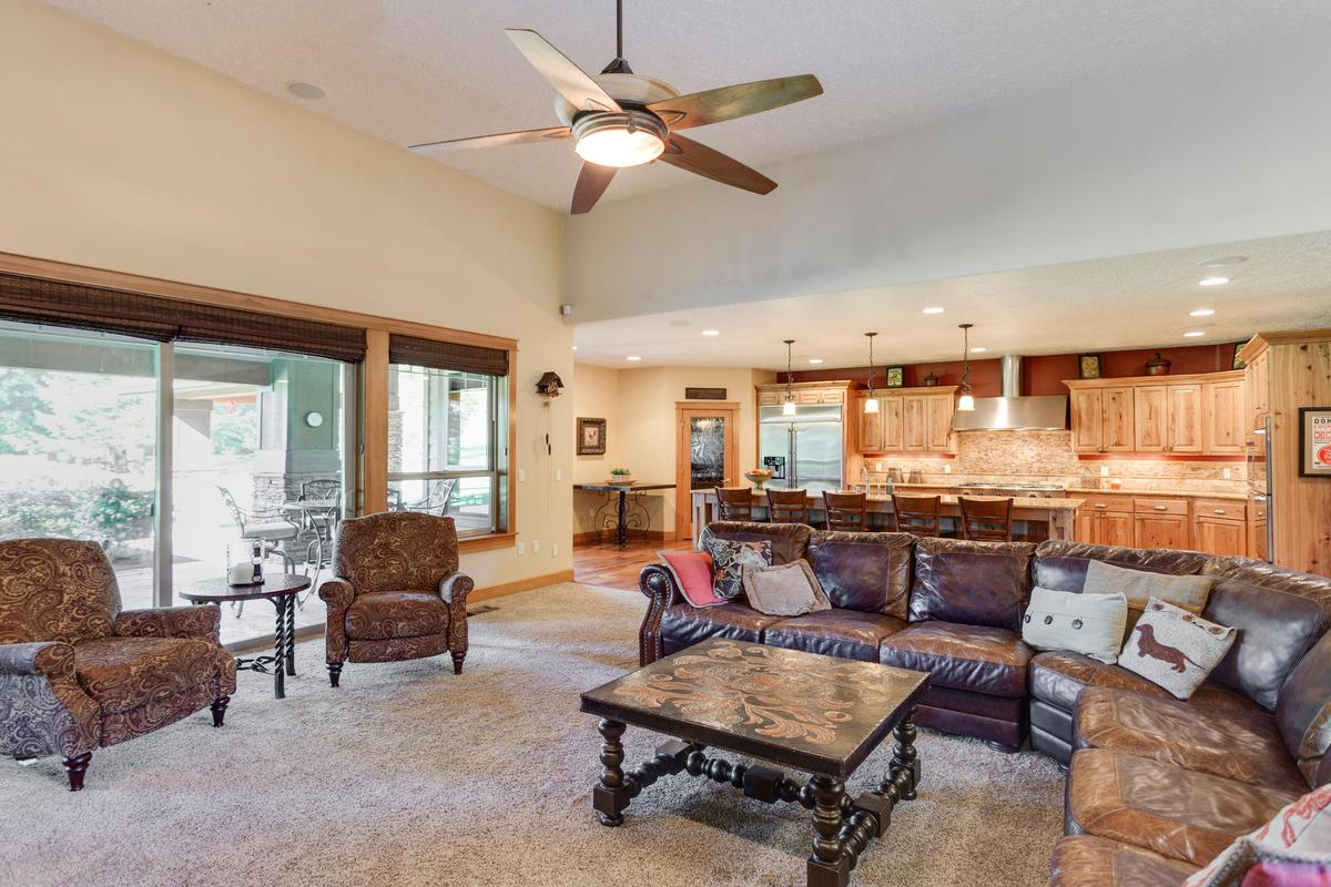 Mansions Custom Craftsman on 34 private acres