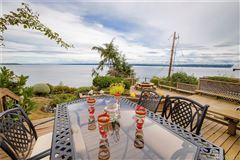Luxury homes in ENJOY YOUR MORNING COFFEE WITH PANORAMIC VIEWS OF THE SHIPPING LANES, DOWNTOWN SEATTLE AND MT. BAKER