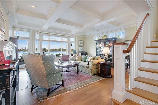 Luxury homes Timeless custom home with panoramic lake views