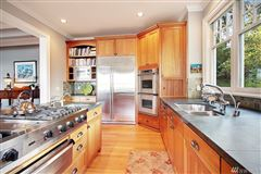 Timeless custom home with panoramic lake views luxury homes