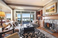 Luxury properties Timeless custom home with panoramic lake views