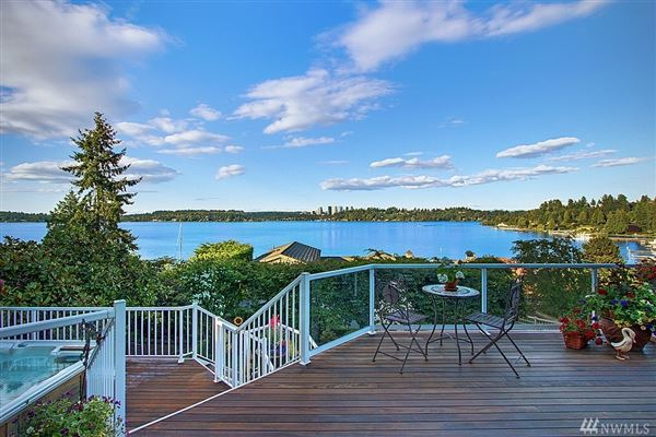 Luxury homes in Timeless custom home with panoramic lake views