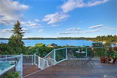 Timeless custom home with panoramic lake views luxury properties