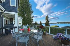 Luxury real estate Timeless custom home with panoramic lake views