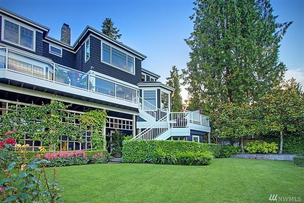 Mansions Timeless custom home with panoramic lake views