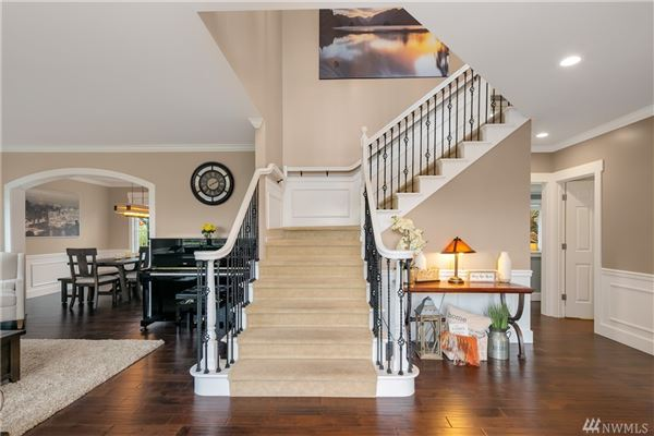 Luxurious renovated modern craftsman home luxury homes