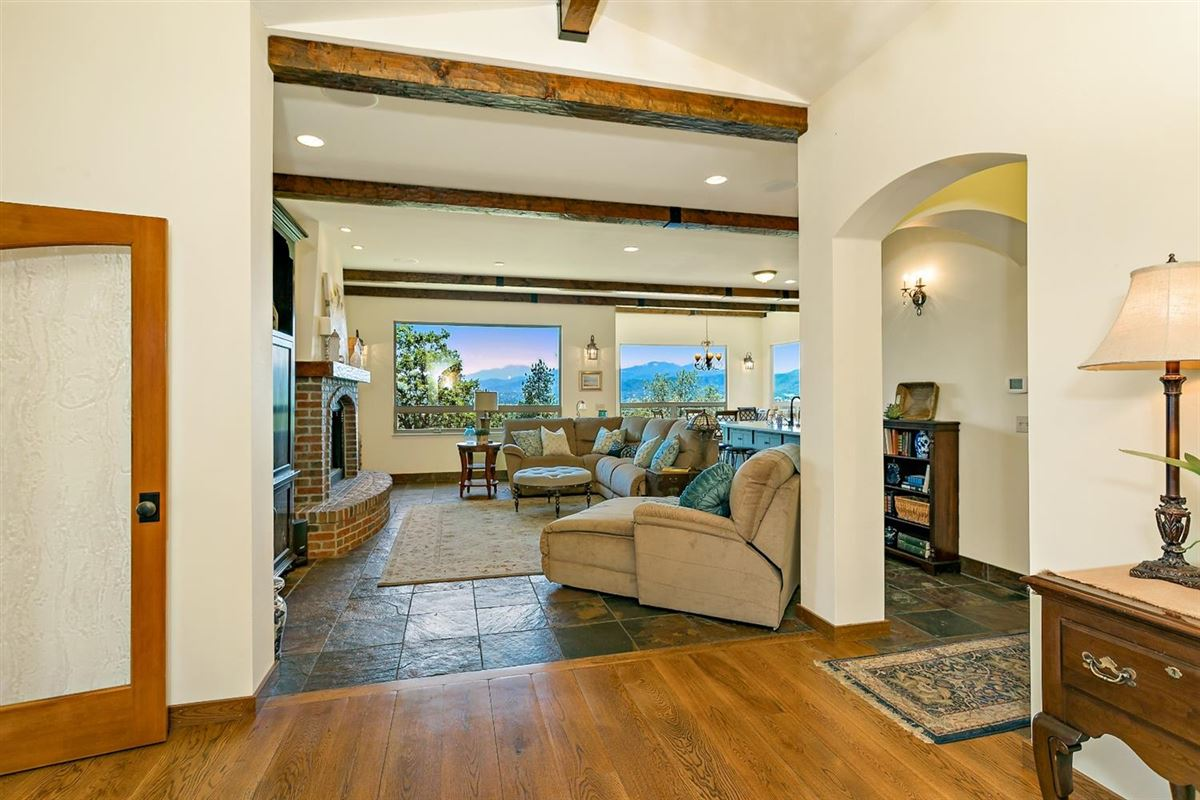 Luxury properties Mediterranean style home with panoramic valley views