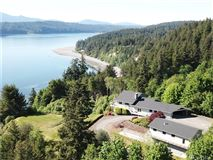 exceptionally rare West-facing waterfront estate mansions