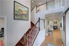 Mansions in custom craftsman on a nearly four acre hobby farm