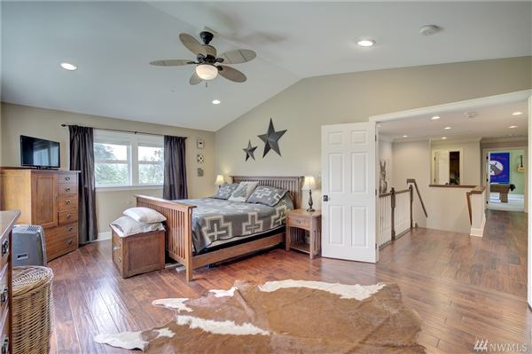 Luxury homes in custom craftsman on a nearly four acre hobby farm