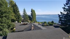 Fantastic views of Puget Sound mansions