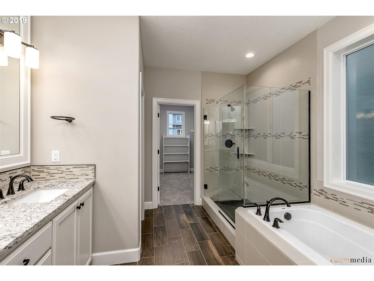 Luxury homes in new construction beauty