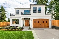 new custom home in the heart of Clyde Hill luxury homes