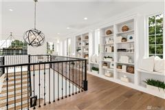 new custom home in the heart of Clyde Hill mansions