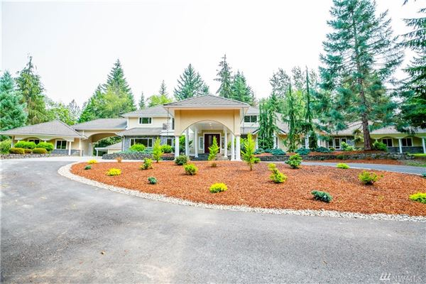 Luxury meets tranquility on six private acres luxury real estate
