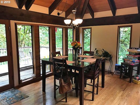 Luxury real estate stunning privacy on over five and half acres