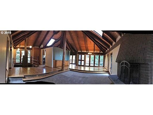 Luxury properties stunning privacy on over five and half acres